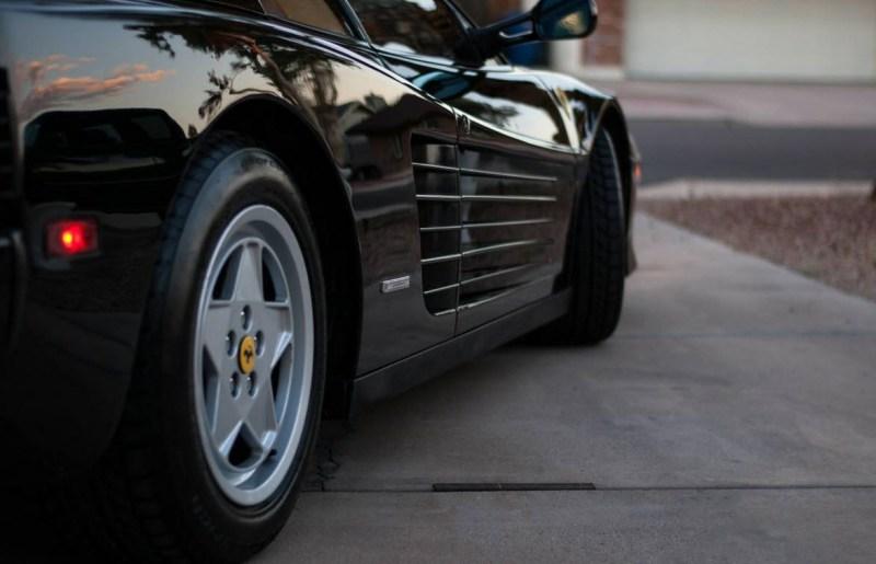 dirtyoldcars.com 1990 Ferrari Testarossa Found in Mesa Arizona 6