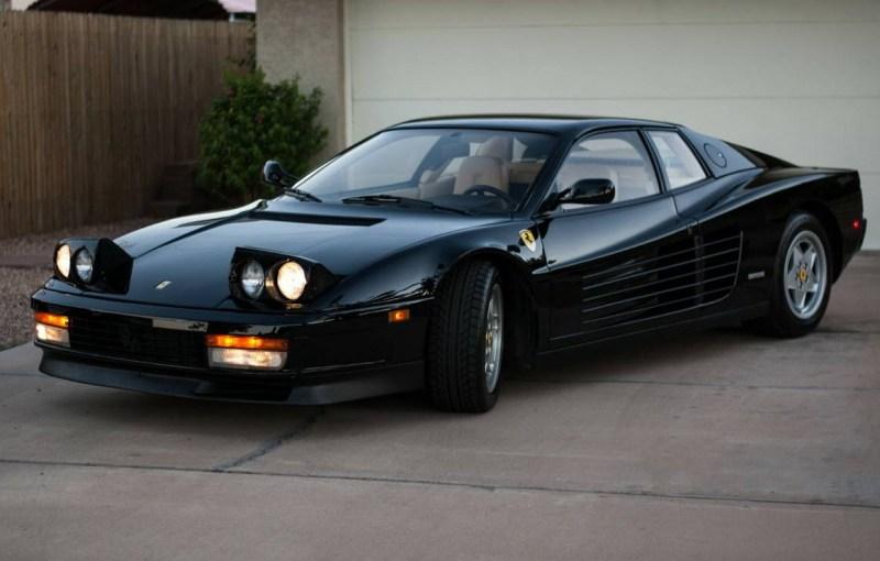 dirtyoldcars.com 1990 Ferrari Testarossa Found in Mesa Arizona 13