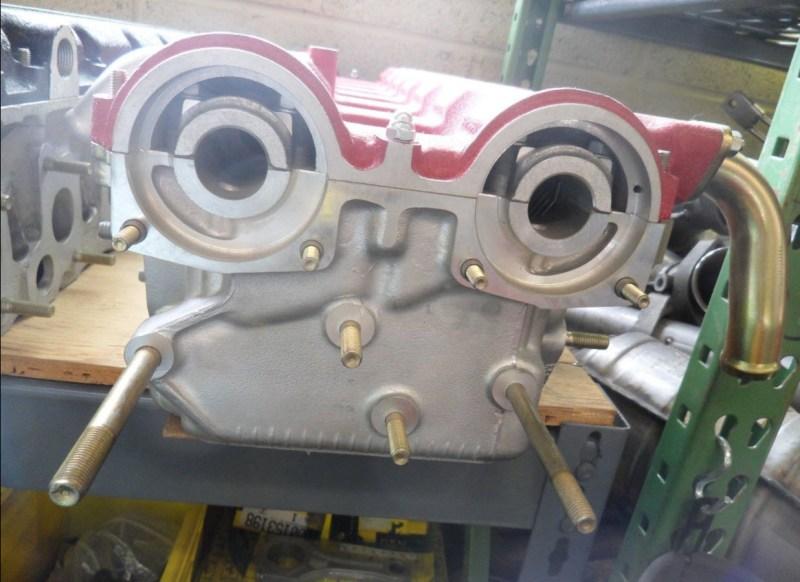 dirtyoldcars.com Ferrari 512TR Cylinder Head 1