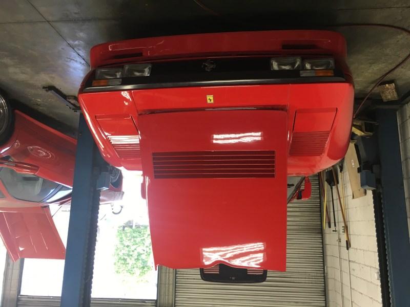 dirtyoldcars.com 1985 Ferrari 288 GTO: Only 700 KM 1