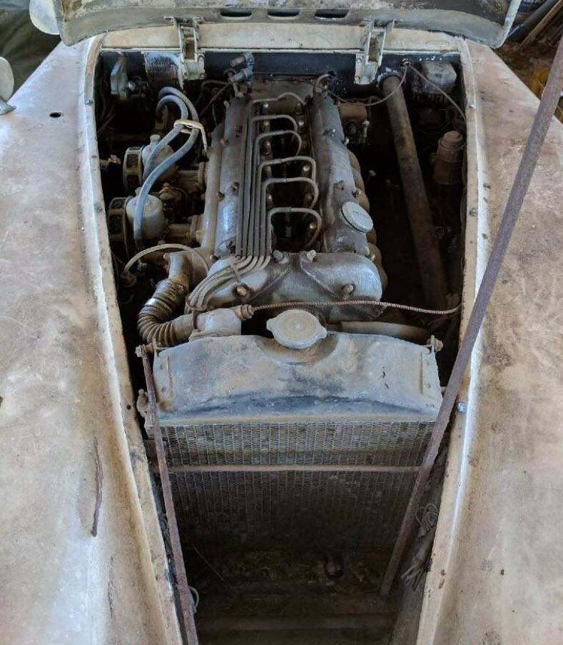dirtyoldcars.com   1953 Jaguar XK120 Roadster Found in New York   1