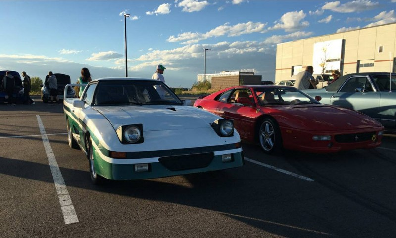 dirtyoldcars.com 1982 Mazda RX-7 Le Mans Found in Parker Colorado F40 Wheels 3