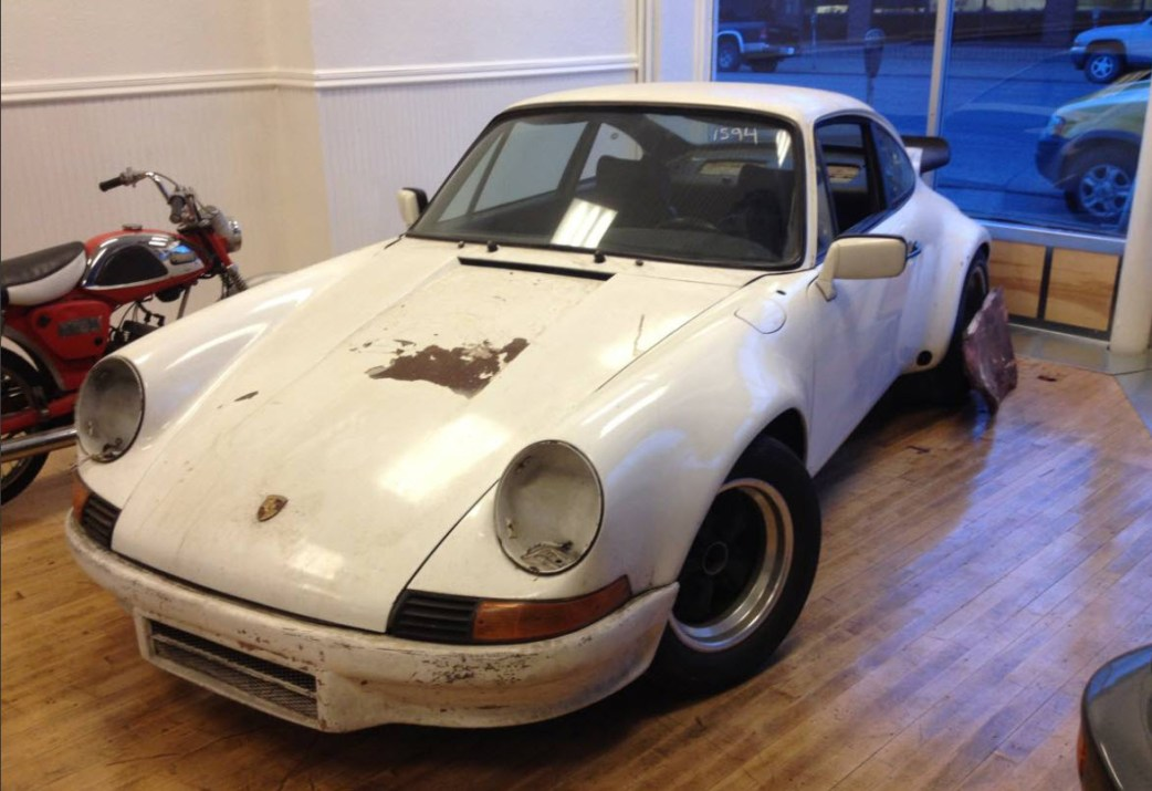 1973 porsche 911 hot rod 3 2 short stroke for sale dirty old cars. Black Bedroom Furniture Sets. Home Design Ideas