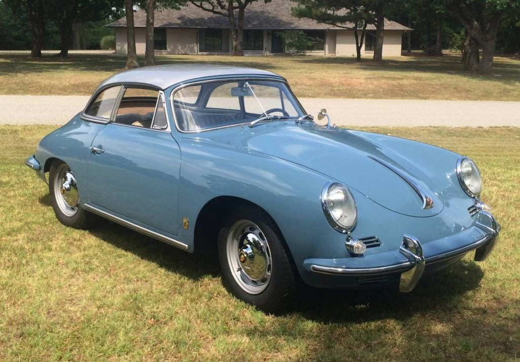 dirtyoldcars.com 1960 Porsche 356B 1600 S Reutter Cabriolet Found in Oklahoma 13
