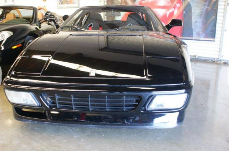 dirtyoldcars.com 1990 Ferrari 348 GTS Challenge Car Found in San Rafael California 5