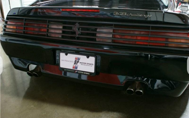 dirtyoldcars.com 1990 Ferrari 348 GTS Challenge Car Found in San Rafael California 4