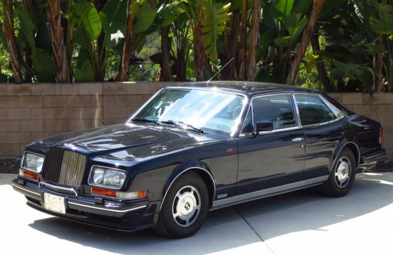 dirtyoldcars.com  1990 Bentley Hooper Empress II Found in San Diego California   8