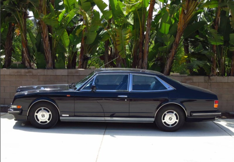 dirtyoldcars.com 1990 Bentley Hooper Empress II Found in San Diego California 5