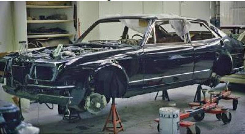 dirtyoldcars.com 1990 Bentley Hooper Empress II Found in San Diego California 1