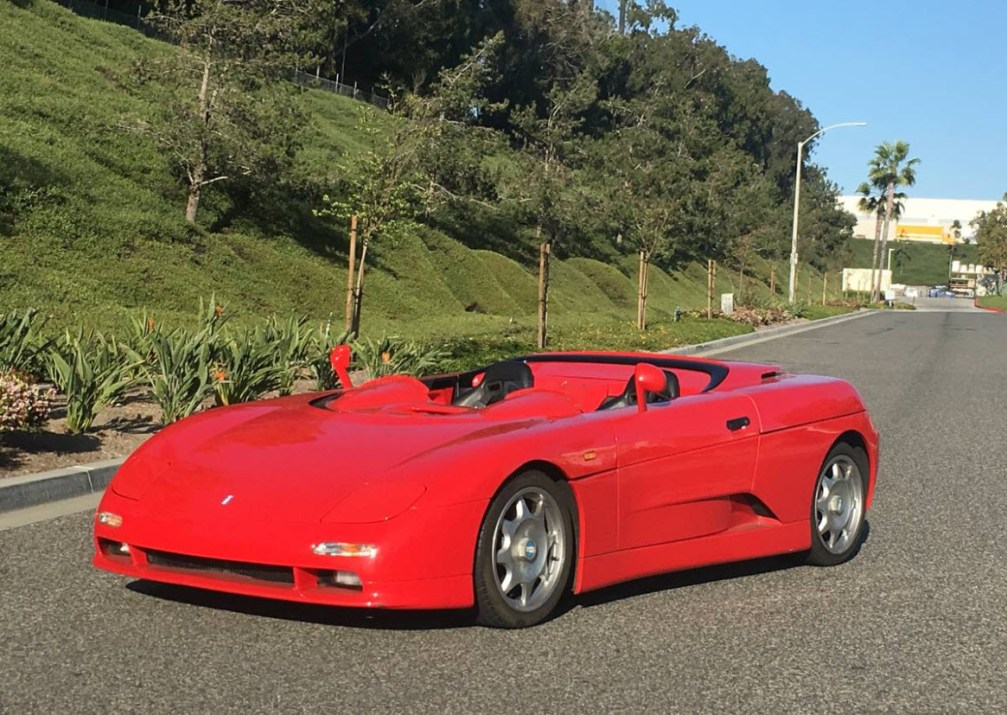 dirtyoldcars.com 1995 DeTomaso Guara Barchetta Found in San Diego 4