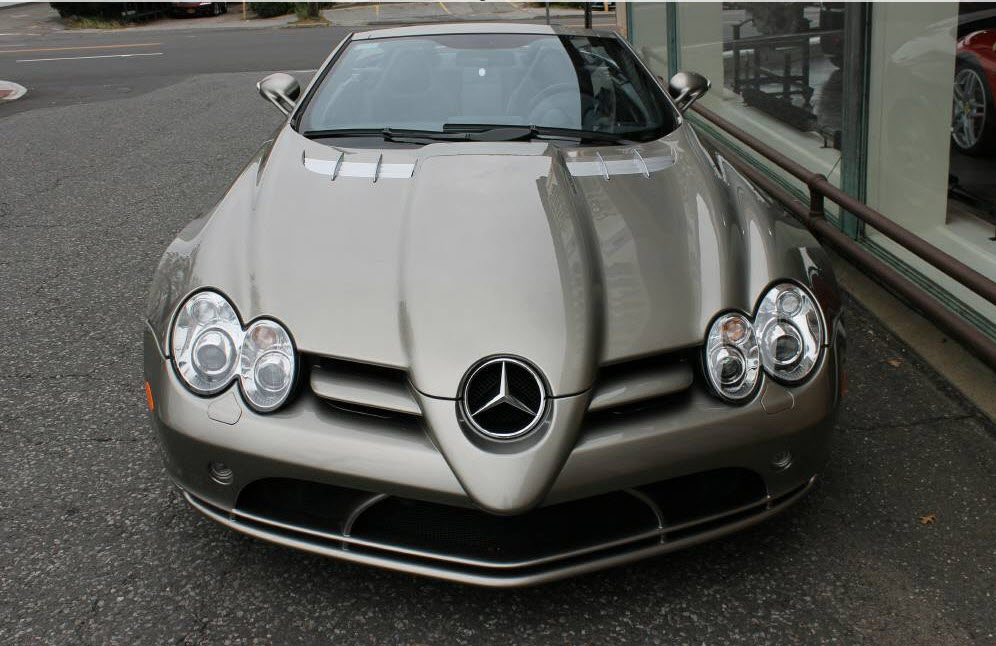 dirtyoldcars.com 2009 Mercedes SLR Convertible Found in Boston 3