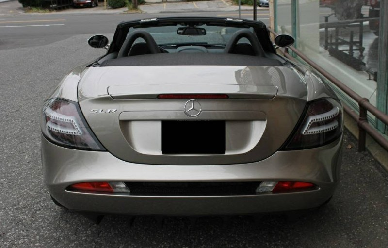 dirtyoldcars.com  2009 Mercedes SLR Convertible Found in Boston   1