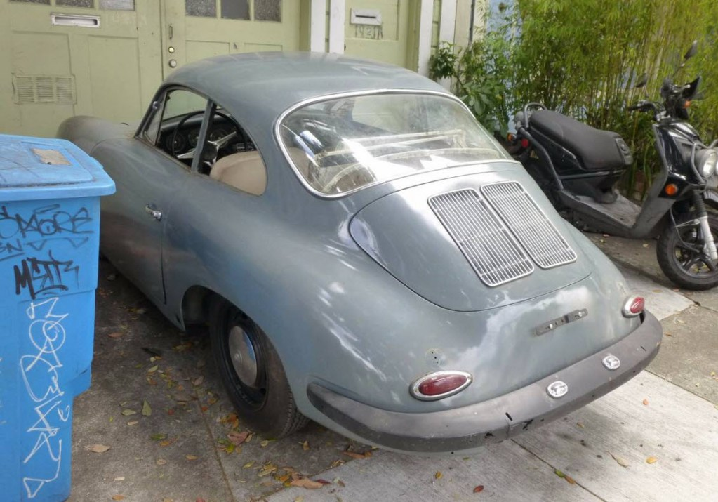 dirtyoldcars.com 1965 Porsche 356C Coupe Project Found in San Francisco 7