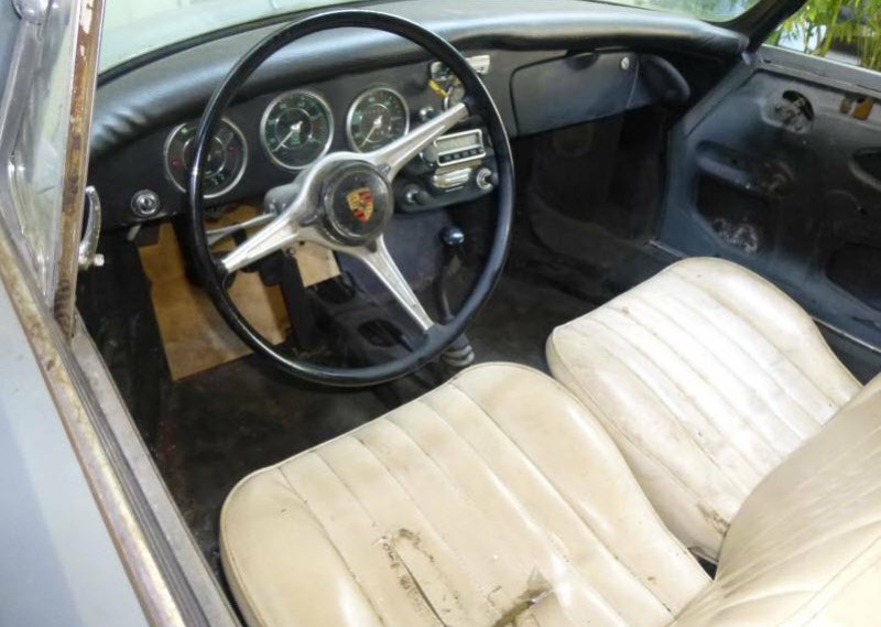 dirtyoldcars.com   1965 Porsche 356C Coupe Project Found in San Francisco    3