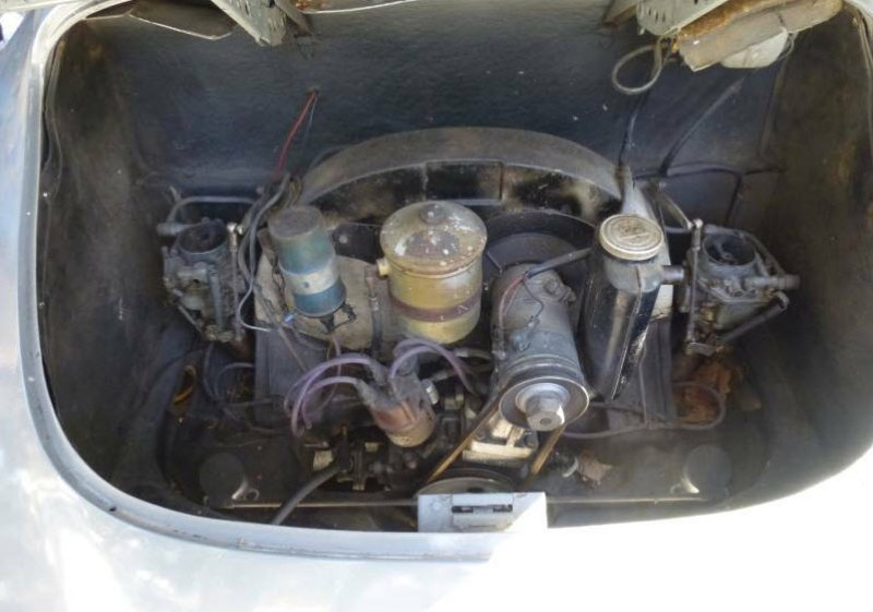 dirtyoldcars.com   1965 Porsche 356C Coupe Project Found in San Francisco    2
