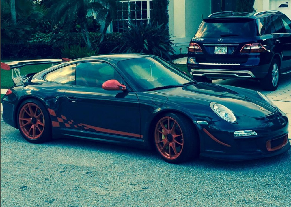 dirtyoldcars.com 2010 Porsche 911 GT3 RS Found in Palm Beach Florida 3