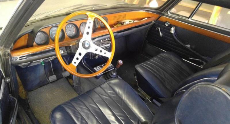 dirtyoldcars.com 1967 BMW 2000 CS Alpine Edition 7