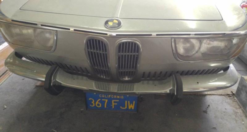 dirtyoldcars.com 1967 BMW 2000 CS Alpine Edition 2