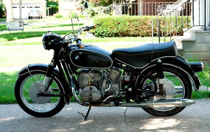 dirtyoldcars.com 1968 BMW 69S Motorcycle Found in Ohio 6