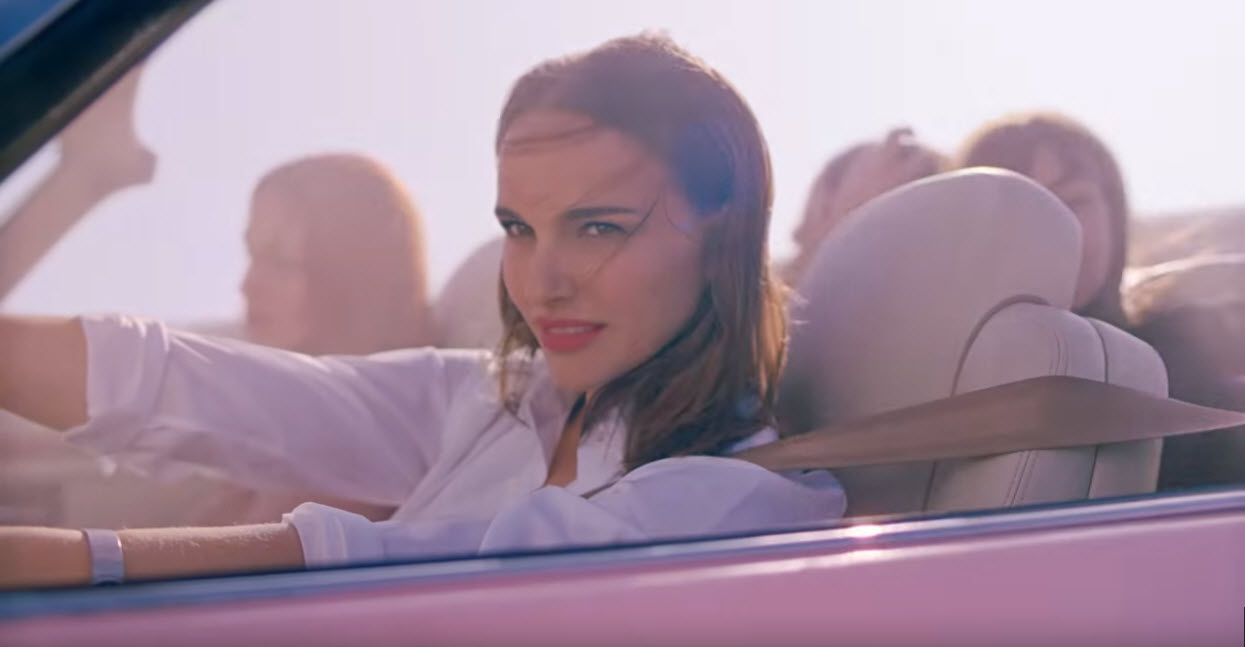 dirtyoldcars.com My Former Jaguar V12 Convertible spotted in a Dior Commercial with Natalie Portman 10