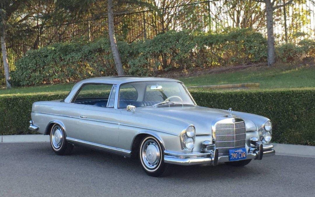 dirtyoldcars.com 1967 Mercedes 300SE Coupe 6.3 Found in California 6