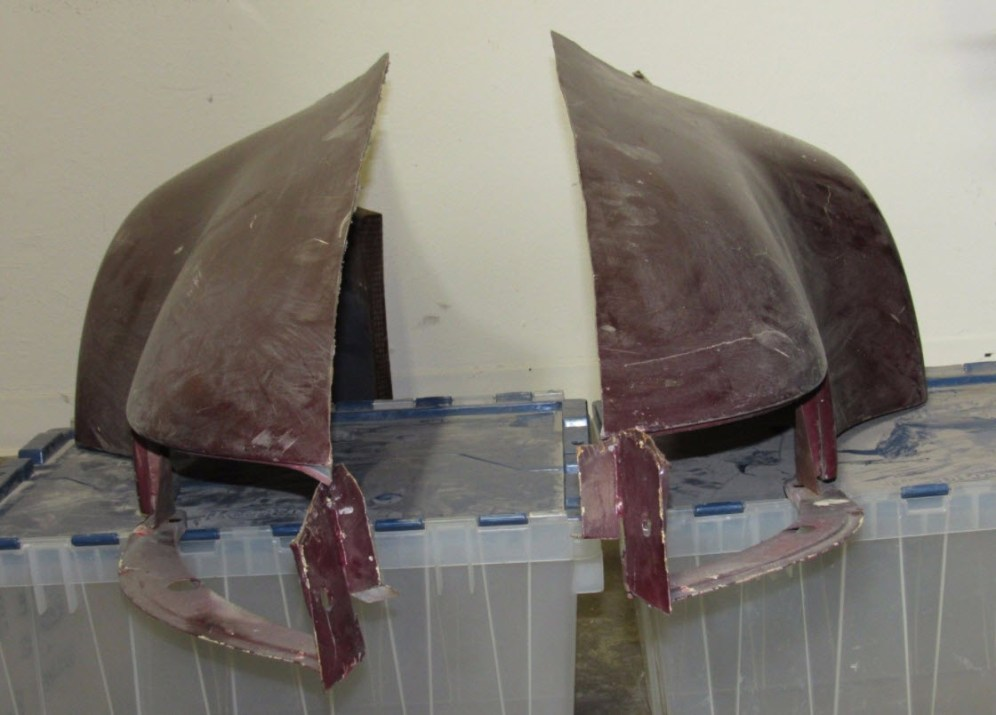 dirtyoldcars.com Gemballa Rear Fenders Flares and Quarter Panels 10
