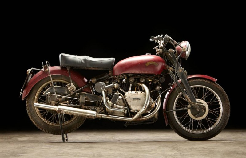 dirtyoldcars.com 1952 Vincent Series C Touring Rapide Found in Ojai 5