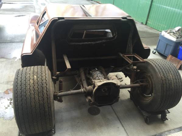 dirtyoldcars.com   1968 Dick Dean Shalako Dune Buggy    3