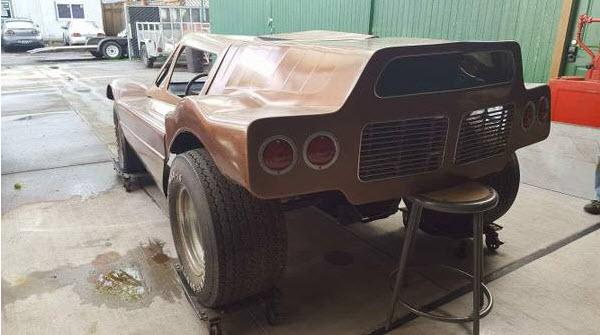 dirtyoldcars.com   1968 Dick Dean Shalako Dune Buggy    1