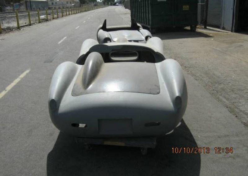 dirtyoldcars.com   Ferrari TR Fiberglass Body Found in Long Beach   4