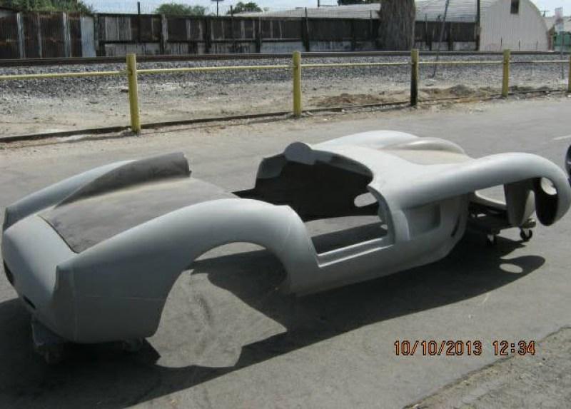 dirtyoldcars.com   Ferrari TR Fiberglass Body Found in Long Beach   3