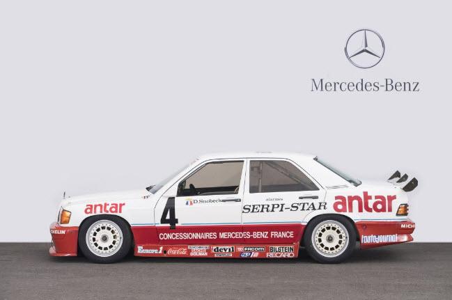 dirtyoldcars.com 1985 Mercedes 190E Ex-Team Snobeck 9