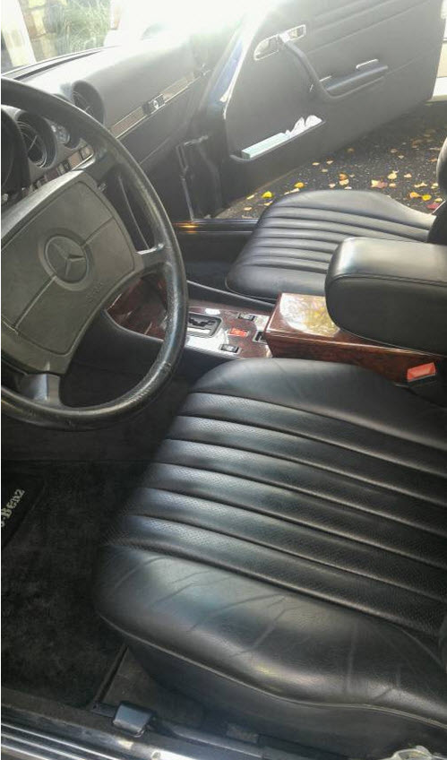 dirtyoldcars.com Low Mileage 1988 Mercedes 560SL Found in Maryland 3
