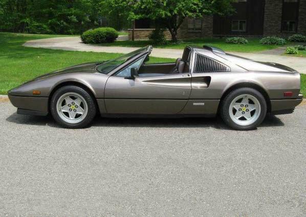 dirtyoldcars.com 1987 Ferrari 328GTS Found in Ohio 5