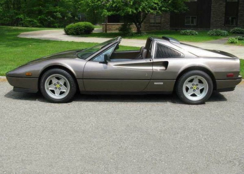 dirtyoldcars.com 1987 Ferrari 328GTS Found in Ohio 3