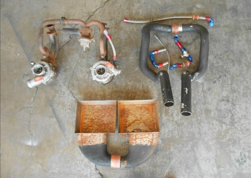 dirtyoldcars.com Ferrari 512BBi Boxer Twin Turbo Kit Found in Costa Mesa 4