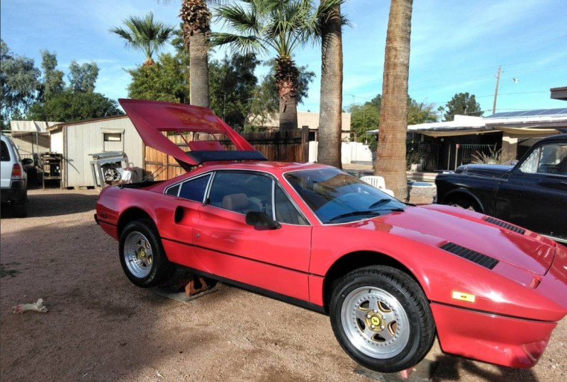 dirtyoldcars.com  1979 Ferrari GTB Found in Arizona    1