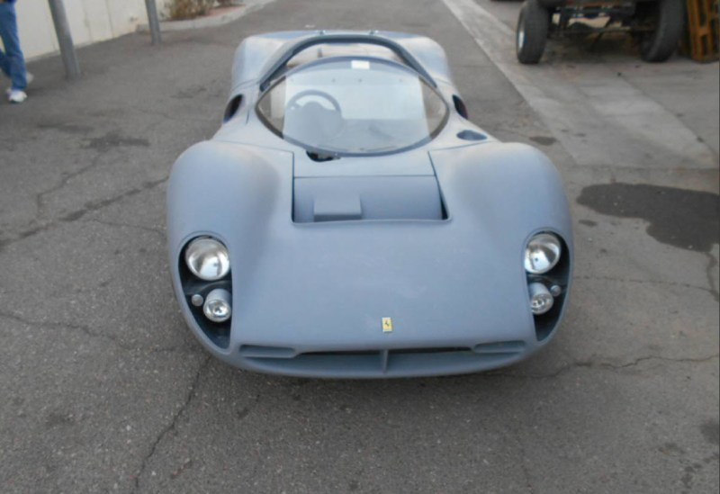 dirtyoldcars.com   1967 Ferrari 330 P4 Recreation Found in Arizona  3