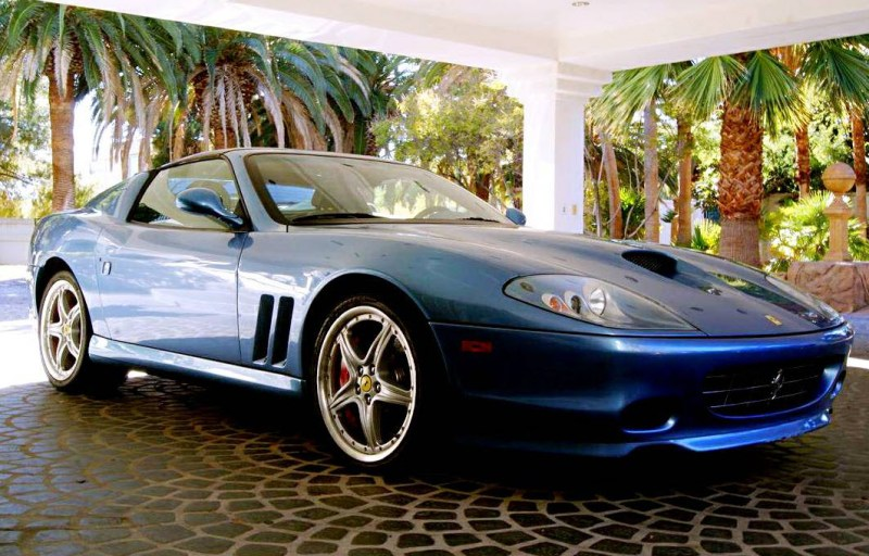 dirtyoldcars.com  2005 Ferrari 575 Superamerica  Found in Las Vegas    6