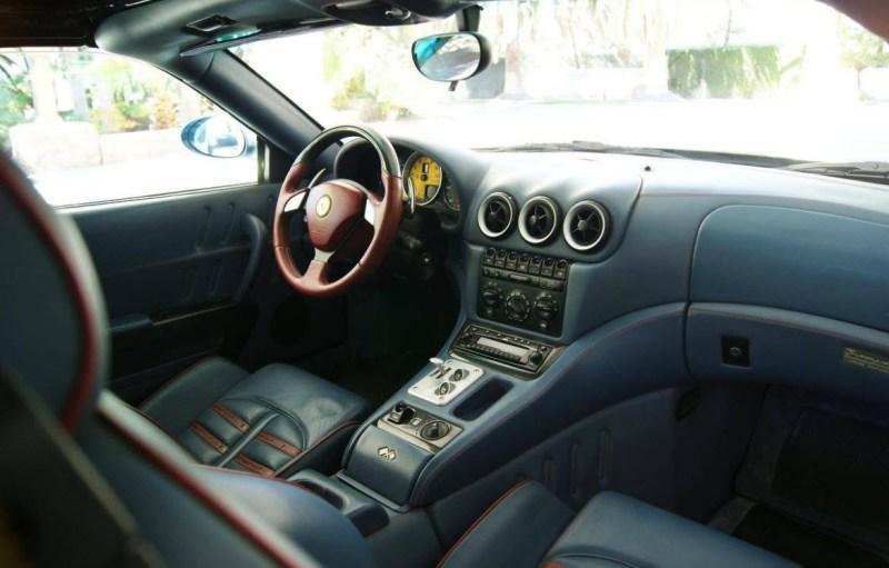 dirtyoldcars.com  2005 Ferrari 575 Superamerica  Found in Las Vegas    3