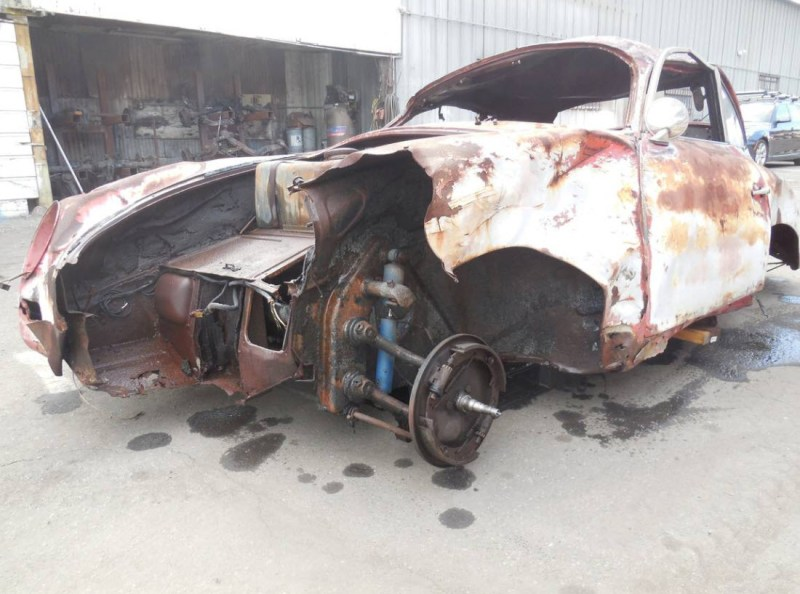 dirtyoldcars.com  1959 Porsche 356 A Coupe Project Car for Parts or Restoration 356A    8