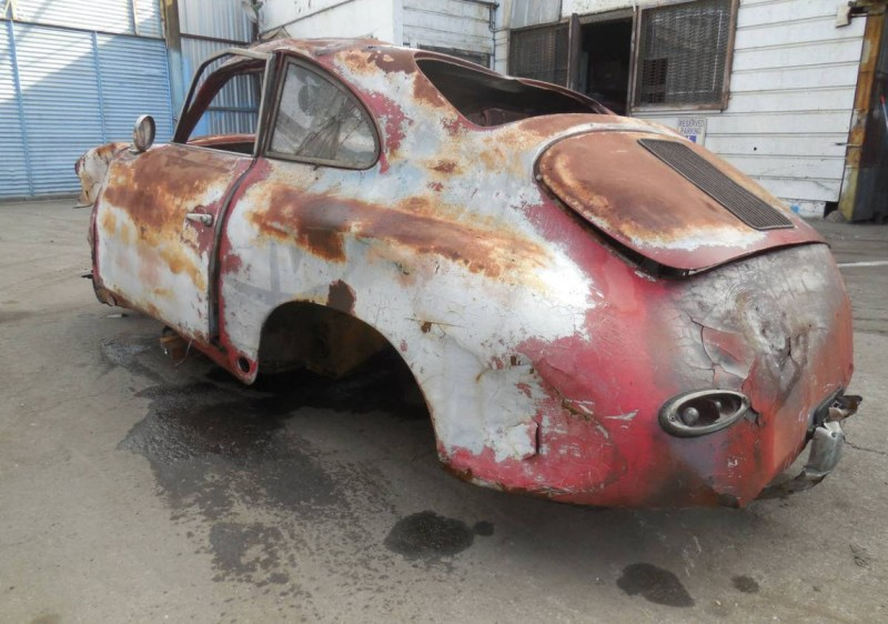 dirtyoldcars.com  1959 Porsche 356 A Coupe Project Car for Parts or Restoration 356A    7