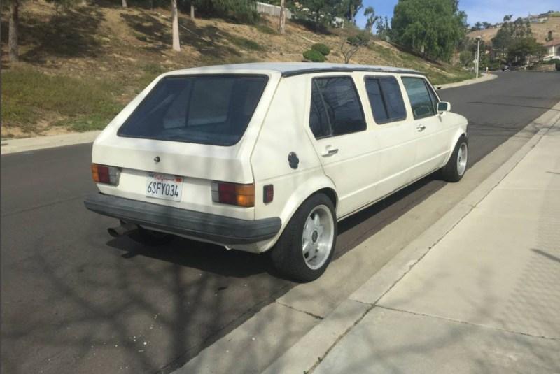 dirtyoldcars.com   1979 Volkswagen Rabbit Limo Found in California     3