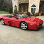 dirtyoldcars.com 1994 Ferrari 348 Spider Found in Hartwell Georgia 4