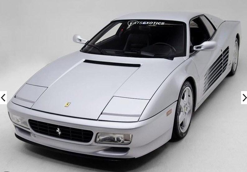 dirtyoldcars.com 1992 Ferrari 512TR Silver Found in Washington 6
