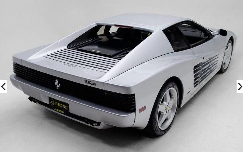 dirtyoldcars.com 1992 Ferrari 512TR Silver Found in Washington 5