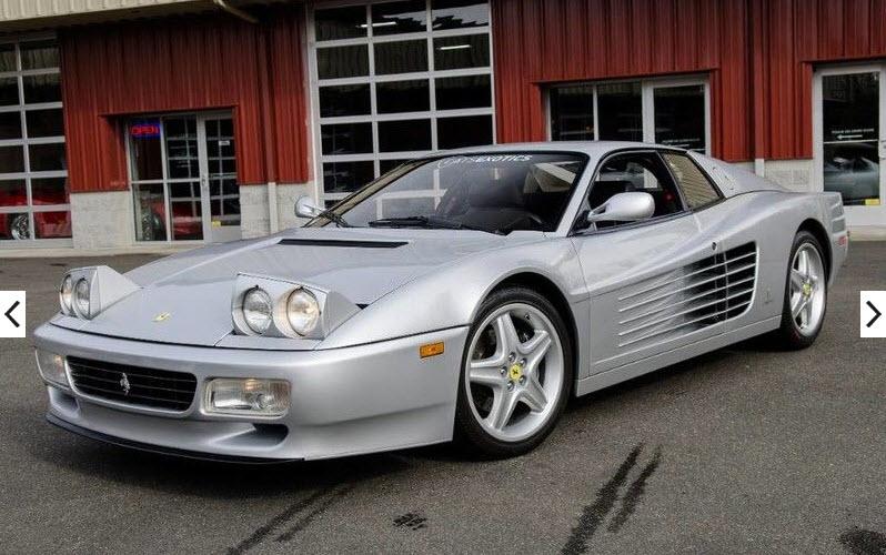 dirtyoldcars.com 1992 Ferrari 512TR Silver Found in Washington 2