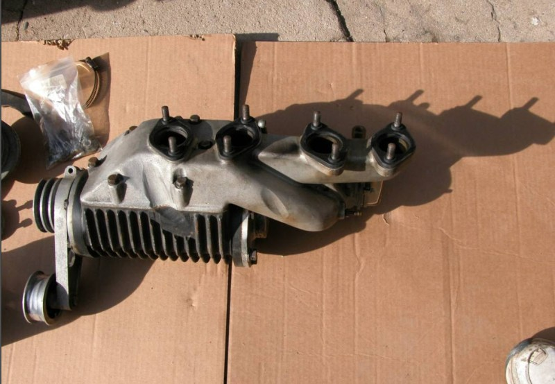 dirtyoldcars.com Judson Super For 190SL Found in Santa Cruz 10