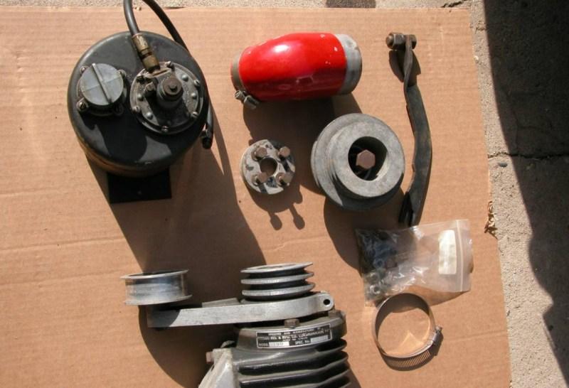 dirtyoldcars.com Judson Super For 190SL Found in Santa Cruz 11