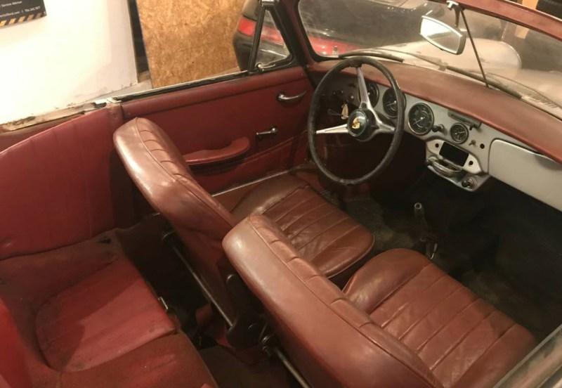 dirtyoldcars.com  1964 Porsche 356 Cabriolet Found in Shrewsbury  Boston  1